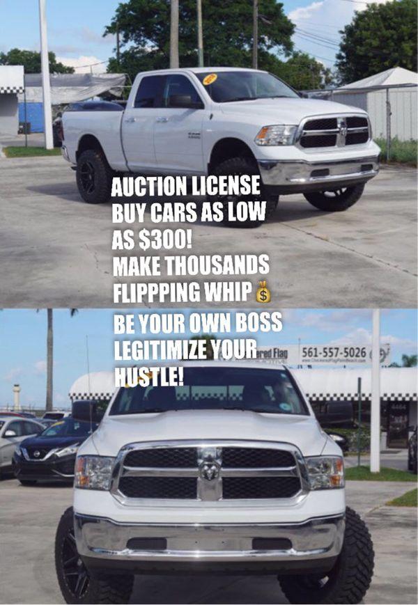 Auction License