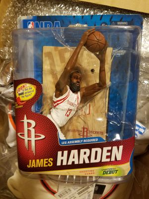 James Harden Houston Rockets Mcfarlane Action Figure for Sale in Denver, CO
