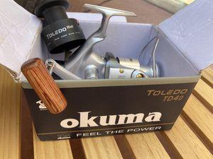 Okuma fishing reel for Sale in Apple Valley, CA