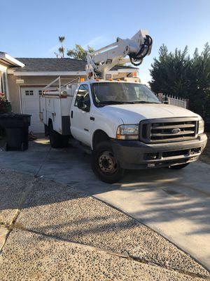 2004 f450 broom /bucket trucks for Sale in Burbank, CA