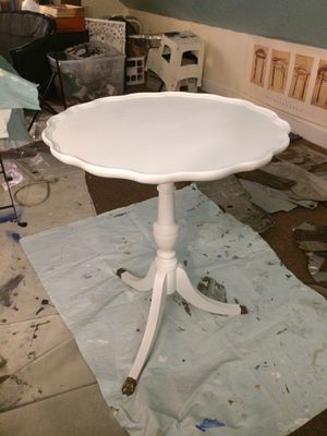 Antique wood painted end table for Sale in Boston, MA