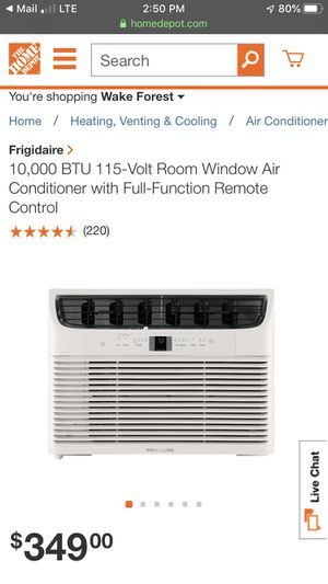 Frigidaire AC unit for Sale in Raleigh, NC