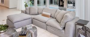 Cloud sofa from Restoration Hardware 4 years of use for Sale in IND CRK VLG, FL