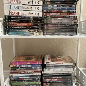 ~53 DVD movies And TV shows for Sale in Houston, TX