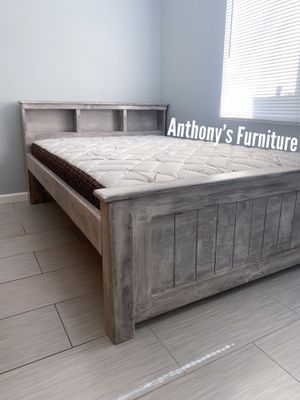 Full bed & bamboo mattress for Sale in South Gate, CA
