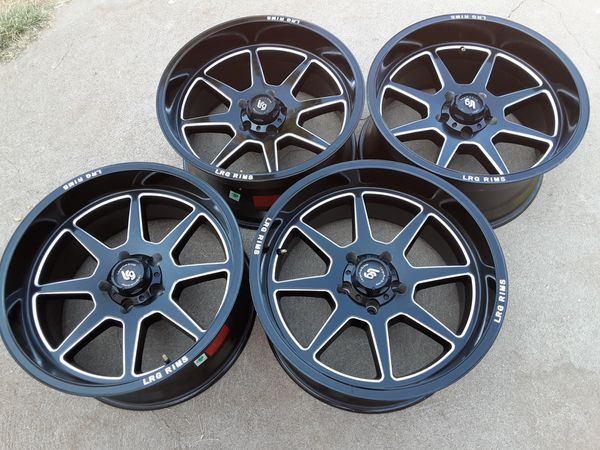 20 inches rims wheels 5 lugs 5x5.5 or 5x139.7 fif on ford f-150 f-100 dodge ram Durango Dakota jeep cj kia sorento sportage Mitsubishi raider Suzuki