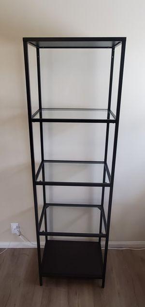 Glass Metal Shelf for Sale in Pasadena, CA