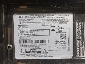 "Broken Samsung 65"" 4K tv for Sale in Overland Park, KS"