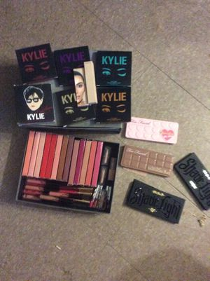 Kylie,kat von d , too faced kkw beauty for Sale in Somerville, MA