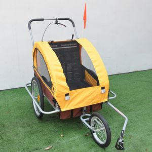 WiseBikes 2 in 1 bike trailer and jogging stroller. for Sale in Forest Heights, MD