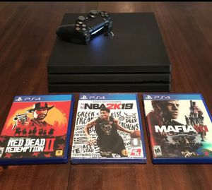 Ps4 pro for Sale in Cleveland, OH