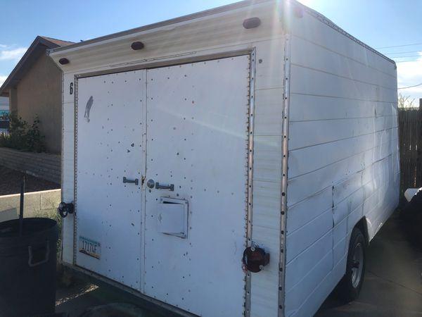 10x6 aluminum trailer