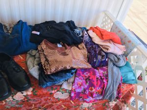 Huge Bag of Mens and Women's Clothing for Sale in GLMN HOT SPGS, CA