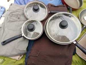 6 piece cooking pan set for Sale in Houston, TX