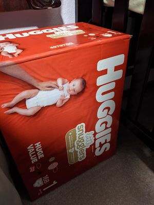 Baby diapers size 1 for Sale in Puyallup, WA