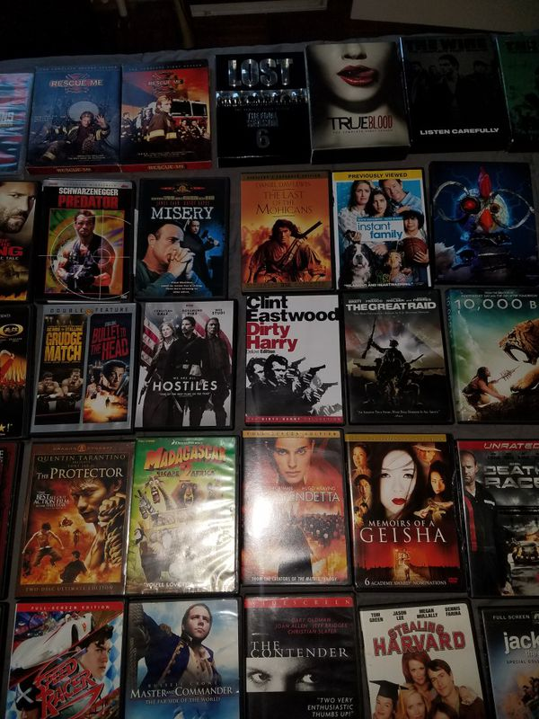 75 Blu-Ray DVD's Complete Season's Movies