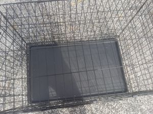 large dog cage commercial grade SPCA approved strong reliable ready to use includes double doors and bottom tray Free Delivery for Sale in Philadelphia, PA