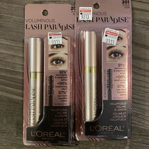 L'ORÉAL voluminous lash paradise mascara black $6.50 each for Sale in San Bernardino, CA