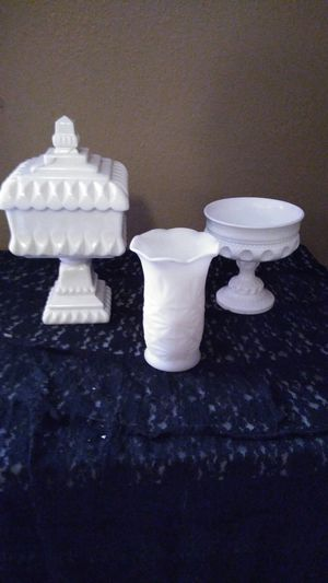 Antique milk glass for Sale in Wichita, KS