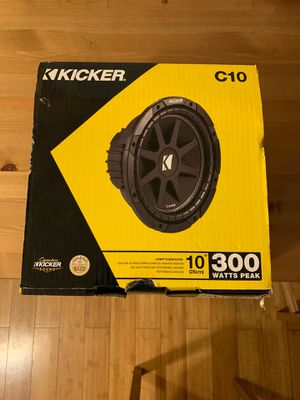 Kicker C 10 Comp Subwoofer for Sale in Paramount, CA