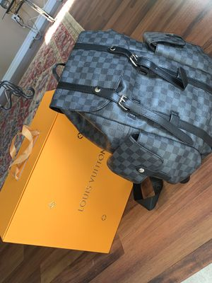 Louis Vuitton Black Damier Graphite Backpack for Sale in Hemet, CA