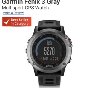 Garmin Fenix 3 Watch for Sale in Chico, CA