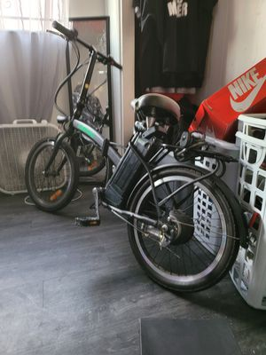 Nakto foldable ebike fast asf! for Sale in Los Angeles, CA
