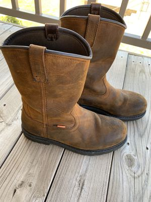 Red wing steel toe work boot for Sale in Tulsa, OK