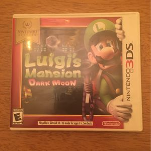 Luigi's Mansion: Dark moon, nintendo 3ds game for Sale in Middletown, VA
