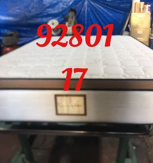 "12"" thick foam Encase 1 Sided Pillow Top mattress. Not rebuild. All new materials. Price includes tax and local delivery. Cash only. Twin Mattre for Sale in Fullerton, CA"
