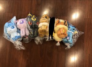 Pokémon Eeveelutions plushies AUTHENTIC for Sale in Castro Valley, CA