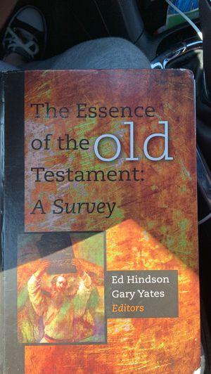 LIBERTY UNIVERSITY Old Testament Survey Textbook for Sale in Lynchburg, VA