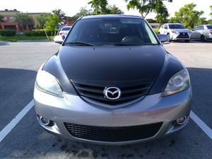 Mazda 3. 2005 gris. Sincrónico for Sale in Miami, FL