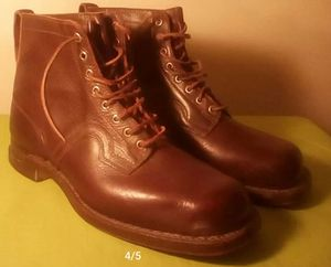 Brown. Men's boots size. 9 for Sale in Denver, CO