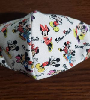 Minnie & Mickey Face Mask Reversible for Sale in Anaheim, CA