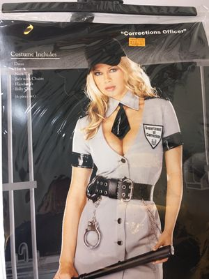 Halloween Costume Women Sexy Corrections Police Officer Dreamgirl Small for Sale in Alpharetta, GA