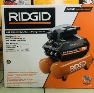 Ridgid compressor for Sale in Anaheim, CA