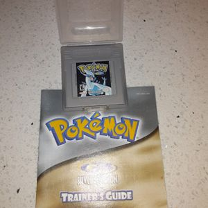 Pokemon Silver With Manual for Sale in Tacoma, WA