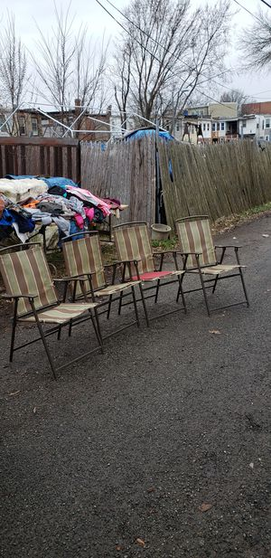 4 Folding Lawn Chairs for Sale in Washington, DC
