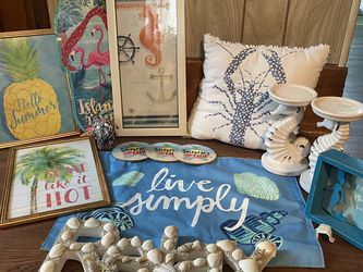 Beach Themed Decor for Sale in Coal Center,  PA