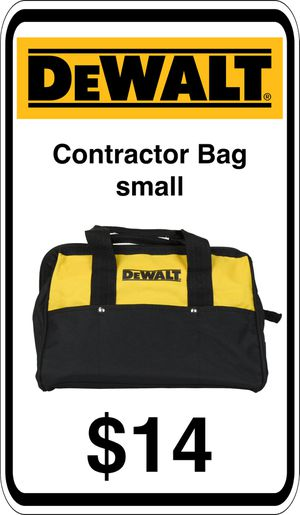 BRAND NEW - DeWalt Contractors Tool Storage Bag. - We accept trades & Credit Cards - AzBE Deals for Sale in Peoria, AZ