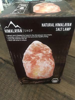 Brand New!! Himalayan Salt Lamp for Sale in Moneta, VA