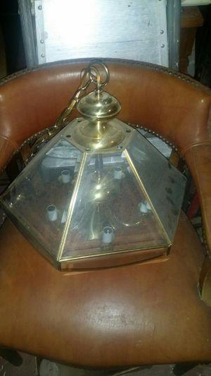Glass brass Chandelier for Sale in Memphis, TN
