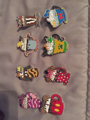 Disneyland hot cocoa pins Mickey Pluto chip Disney for Sale in Lakewood, CA