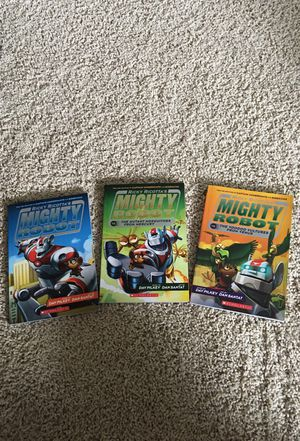 Mighty Robot Books (3) for Sale in Cary, NC