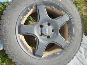 Snow tires with rims 195/65 r15 for Sale in Malaga, WA