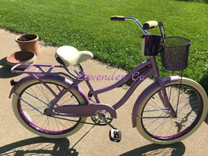"""Huffy 24"""" Nel Lusso Girls' Cruiser Bike, Purple Satin 24 inch bicycle for Sale in Dallas, TX"""