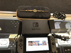 NINTENDO SWITCH with Grey Joy Cons for Sale in Morrow, GA