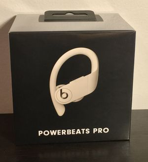 *NEW* Powerbeats Pro - Totally Wireless Earphones - Ivory for Sale in Rochester Hills, MI