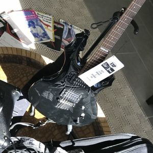 ESP/Ltd F-50 Electric Guitar w/Gig Bag, Marshal Mg Series Custom Loudspeaker -Ready To Play for Sale in Aromas, CA